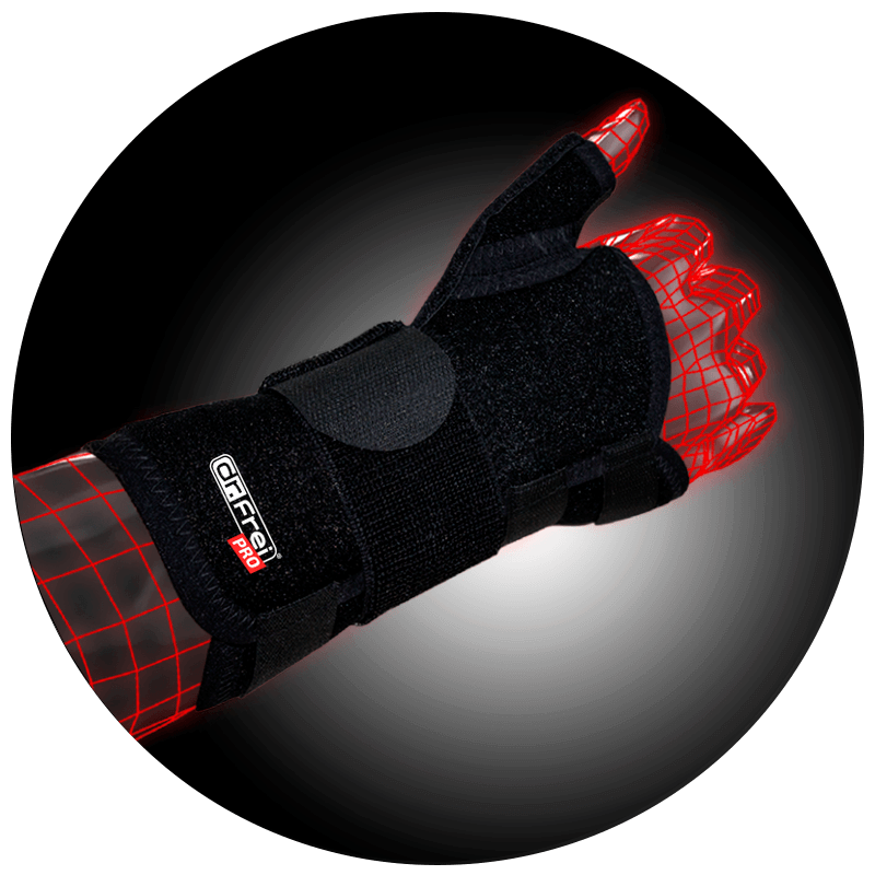 WRIST BRACE WITH THUMB FIXATION